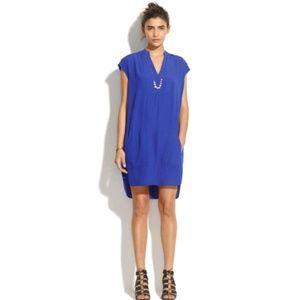 Madewell | Du Jour blue dress